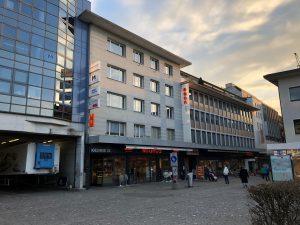 Eingansfassade